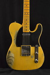 Fender Custom Shop 70th Anniversary Broadcaster Heavy Relic Aged Nocaster Blonde