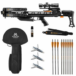Mission Sub-1 Xr Crossbow Pro Package - Black - New