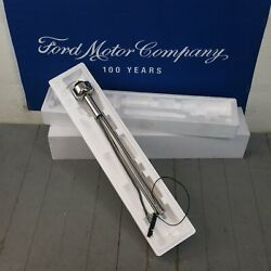 1966 - 1967 Ford Fairlane And Comet Polished Stainless Steering Column Nostalgia