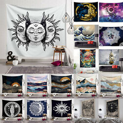 Hippie Tapestry Wall Hanging Blanket Yoga Mat Bedspread Throw Living Room Decors