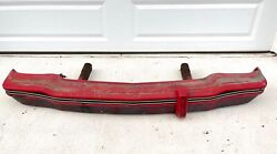 1974-78 Ford Mustang Ii Front Bumper W/ Cover And Brackets Oem Nice