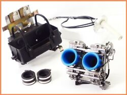 1993 900sl Carburetor Set 39mm Cleansed W/ High Throttle And Battery Case 900ss Pp