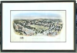 Dartmouth College - 21andrdquox 14andrdquo Tinted Engraved Print By Richard Rummell 1900s