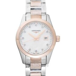Longines Conquest Classic L22863877 Mother Of Pearl Dial Lady's Watch Genuine