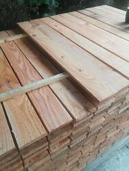 10x New Timber Pallet Wood Boards Planks / Wall Cladding / Garden / Diy