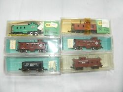 Atlas And Others - N Scale - Lot Of 6 Freight Cars