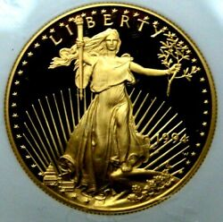 1994 W Eagle Ngc 50 Pf 70 Ultra Proof Cameo Gold Coin
