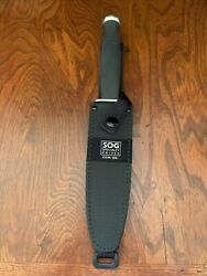 Rare Sog Government Fixed Blade Knife With Sheath Stainless Seki Japan