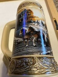 Miller Genuine Draft Ducks Unlimited Terry Redlin 1st In Series Stein Mug.