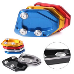 Cnc Side Stand Extension Plate Pad Enlarger Fit For Lifan Kpr150 Aluminium Alloy