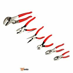 Cutting Pliers Grip Riveted Solid Joint Set 6pc - Rsenio