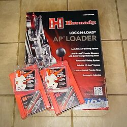 Hornady Lock-n-load Ap Progressive Press 9mm And 223 Die Sets And 8 16 Shell Plate