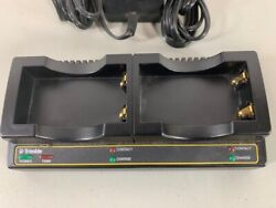 Trimble Dual Bay Charger 61116-00 For Gps5800 R8 Sps780 Sps985 Pre-owned