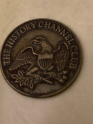 The History Channel Club 1976 Commemorative 1776 Coin Token Bicentennial