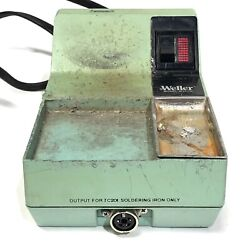 Weller Soldering Station Wtcp-n Tc202 For Parts As-is