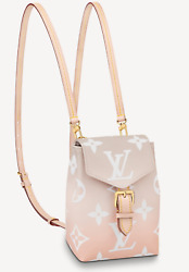 Louis Vuitton By The Pool Tiny Backpack Giant Logo Monogram Brume Shoulder Bag