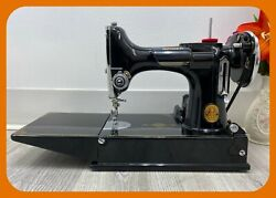Sewing Machine Singer Featherweight 221 Series Ae From 1935 Incredible Healthy