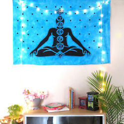 Meditation 7 Chakra Poster Tapestry Bohemian Wall Hanging Home Decor Wall Poster