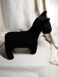 Antique Vintage Toy Stuffed Animal Dog Sheep Wool Felt Horsehair Vintage 1920and039s
