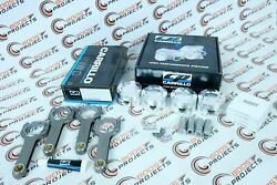 Cp Piston 84.00 Mm Bore 10.01 Cr And Pro-h 3/8 Bolt Carr Rods For Bmw N20b20 2.0l