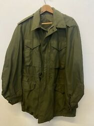 Vtg 1950s M-1951 Field Jacket Small-long Deadstock Near Mnt Unissued Cutter Tag