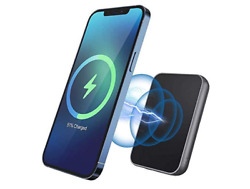 Magnetic Portable Charger 15w Power Bank Fast Charging Built-in Magnets Usb-c