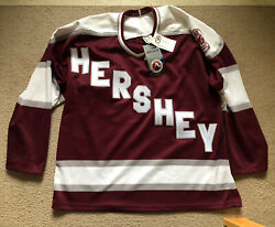 Rare Vintage Bauer Ahl Hershey Bears Hockey Jersey Size Large New With Tags