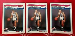 12 Larry Bird 1991-92 Hoops Usa Basketball And 1991 Hoops 8 And 2 {g-vg}