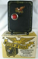 Mosler Junior Vintage Toy Safe Coin Bank Vault With Original Box And Combination