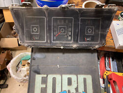1975 Ford Truck Dash Cluster F100 F250 Low Fuel Economy
