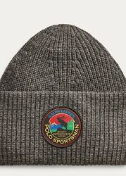 Polo Sportsman Gray Charcoal Beanie Great Outdoors Wildlife