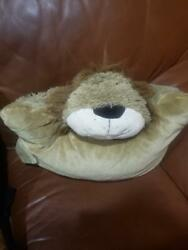 ORIGINAL PILLOW PETS LARGE LION 22quot; PLUSH STUFFED BED BUDDY TOY