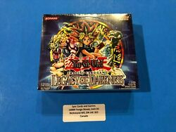 Legacy Of Darkness - Unlimited 24 Packs Booster Box - Sealed New - Yu-gi-oh