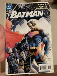 Batman 612 Signed By Jim Lee, Alex Sinclair And Scott Williams At Comic Con