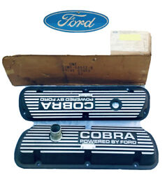 Nos Shelby Ford S2ms-6a582-b 1968/69/70 Shelby Gt350 Cobra Valve Covers Last Pr.
