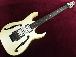 Used Ibanez Pgm30-paul Gilbert Model-white-2001 Free Shipping