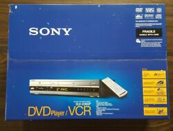 New Sony Slv-d360p Dvd Player Vcr Combo