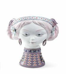 Lladro Porcelain 01007289 Byzantine Head Color Limited Edition New 7289