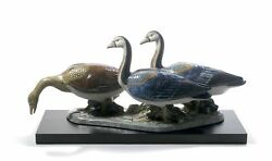 Lladro Porcelain 01012548 Egyptian Geese Limited Edition New Box 2548