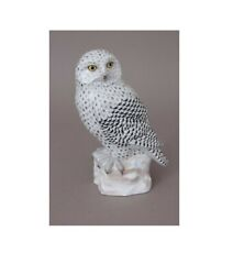Herend Hungary Porcelain Snowy Owl 05688vhsp44 Fishnet New Limited Edition