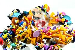 Vintage Disney Mickey Mouse And Friends Toys Mixed Lot Of 34