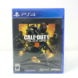 Call Of Duty Black Ops 4 Iiii Sony Playstation 4 Ps4 Brand New - Sealed