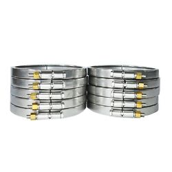 304 Stainless Steel Clamps 25pc Quick Release Coupling Hoop Heayduty Clip