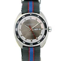 Hamilton Pan Euro H354150 H35415781 Day-date Gray Dial Automatic 90116689