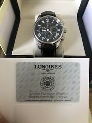 Longines Watch Master Collection Chronograph Automatic L2.759.4.51.6