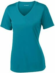 Womenand039s Short Sleeve Moisture Wicking Athletic Shirts In Sizes Xs-4xl