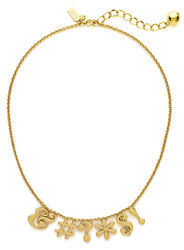 Kate Spade Pardon My French Gold Necklace Imposible To Find So Sassy