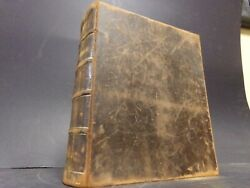 1854 1st Bible Printed In New Orleans 1st Edition + Chisolm Family History