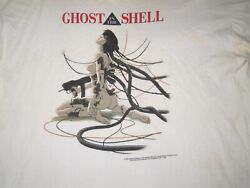 Vintage 1995 Ghost In The Shell Anime T-shirt Fashion Victim Made In Usa Rare