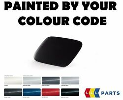 Bmw Oem E70 N/s Left Headlight Washer Cover Cap Painted By Your Colour Code